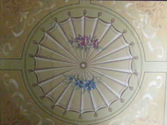 The Central Hand Painted Stairwell Ceiling of Reid's Coffee Palace  Lydiard Street, Ballarat (raaen99) Tags: city flowers autumn winter light summer building architecture painting hotel spring inn flora artist seasons panel architecturaldetail painted 19thcentury decoration victorian skylight australia victoria stairwell ceiling artnouveau staircase fourseasons shade handpainted victoriana ornate nouveau allegory anonymous fresco feature ballarat guesthouse goldrush trompeloeil roadhouse unknownartist nineteenthcentury 1880s countryvictoria vestibule lightandshade stylised 1888 belleepoque bellepoque commercialbuilding architecturalfeature coffeepalace goldrushera anonymousartist temperancehotel provincialvictoria lydiardstreet rechabites lydiardst independentorderofrechabites reidscoffeepalace hostlery tappingilbertanddennehy tappingilbertdennehy architecturallydesigned reidsguesthouse temperencemovement temperencemovementofaustralia tappinandgilbert tappingilbert