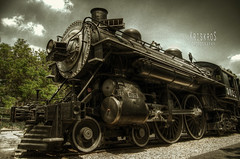 steel and steam (Kris Kros) Tags: old classic metal train photoshop vintage bravo antique metallic touch engine nostalgia kris nostalgic locomotive heavy hdr kk kkg 3025 photomatix cs6 kros kriskros 5xp kkgallery