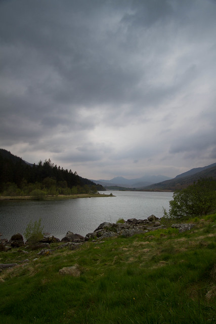Llynneau Mymbyr towards Snowdon