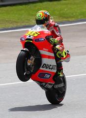 Valentino Rossi - Ducati @Sepang 2011 Mono (rooster2312) Tags: red mono vale malaysia motogp ducati rossi sepang 46 valentino valentinorossi sepanginternationalf1circuit rooster2312canon1div