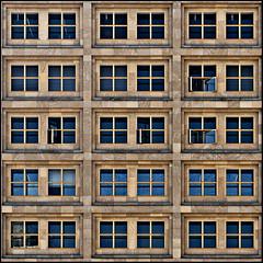 Open the windows! (Maerten Prins) Tags: houses windows building berlin lines facade germany grid flat expo squares duitsland berlijn