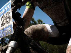 Btt effort (Markus' Sperling) Tags: mountain bike open btt bicicleta ciclismo bici montaa fang barro maillot taradell culotte fango ciclism