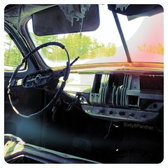 DeSoto Suburban (Interior) (sixty8panther) Tags: auto rot abandoned broken metal radio missing panel suburban steel interior dry chrome rusted instrument torn restoration dashboard needs scrap salvage destroyed wrecked cracked fubar desoto stainless 1947 tattered incomplete blanchards rotted junked scrapped sunbaked needsrestoration mssin beyondhelp