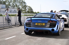 Goodwood GT (tWm.) Tags: blue car nikon day thomas super mein gt nikkor audi supercar f4 goodwood a12 v10 aog r8 24120 saywell d7000