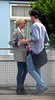 Hetti Bywater and boyfriend out and about in London London, England