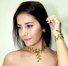 Minimalist Turkish lace necklace, eco friendly hand crocheted lime green leaf choker - Elf collection (Land of Dante) Tags: flower green art floral beautiful leaves necklace leaf needlework lace unique ooak crochet victorian silk inspired style jewelry jewellery fiber crocheted boho bohemian turkish choker handcraft flowery anatolian applegreen oya bohochic handame leafnecklace lacenecklace lacechoker ecofriendlyjewelry bohemianjewelry ecofriendlynecklace bohochicnecklace elegantnecklace handembroiderednecklace lacefashion limegreennecklace landofdante minimalistnecklace needleworknecklace handmadelacenecklace oyanecklace needlelacenecklace crochetedlacechoker silkembroideredchoker fiberartchoker traditionalanatolianlace heirloomjewelrydesigns turkishlacenecklace silkfloralchoker victorianinspiredchoker