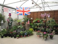 Jubilee decorations at Manor Nurseries (wallygrom) Tags: decorations england westsussex jubilee angmering queensjubilee manornursery frankthemanorman manornurseries