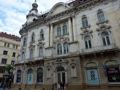 Cluj, former Hotel New York/ Continental (Truus, Bob & Jan too!) Tags: city building architecture neglect hotel decay romania hotelnewyork bazar cluj clujnapoca 1894 eclecticism hotelcontinental piataunirii newyorkpalace transsylvania lajospakey