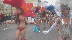 SF Carnaval: Video Clip (shaire productions) Tags: sf sanfrancisco california street carnival costumes ladies people urban music woman beautiful lady fun dance costume video movement dancers dancing image candid feathers clip event musical showgirl carnaval imagery carnavale sfcarnaval