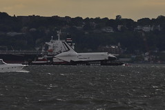 Enterprise by the 69th Street Pier (Daniel J. Grinkevich) Tags: nyc newyorkcity ny brooklyn shuttle gothamist enterprise bayridge orbiter 69thstreetpier ov101 spottheshuttle