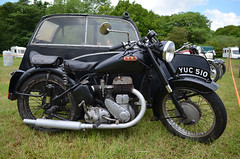 BSA M21 (1960) (SG2012) Tags: photo image picture motorbike photograph moto motorcycle classicmotorcycle bsa motorrad motocicletta classicbike motorcicleta bsam20 yuc510