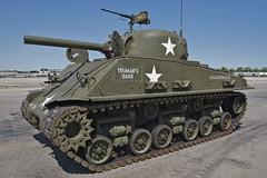 M4 Sherman Tank, Three Quarter View, American Airpower Museum (Peter Cook UK) Tags: ny farmingdale americanairpowermuseum m4shermantank