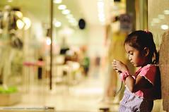 Serious little girl (Dodzki) Tags: portrait nikon pcc strobist cebusubgo d5000 june2012