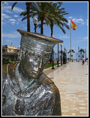 Marinero (sacre) Tags: sculpture navy armada olympus escultura murcia sail