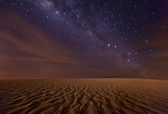 The Red Planet.  Milky Way over Jericoacoara by Michael Anderson (AndersonImages) Tags: brazil southamerica brasil night stars jericoacoara southerncross sanddunes milkyway michaelanderson theredplanet
