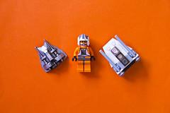 Zev Senesca X Snow Speeder (QuiteAmonster) Tags: rebel starwars lego empire stormtrooper minimalism zevsenesca