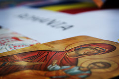 Iconos (Markus' Sperling) Tags: religion jesus nios romania virgen icono rumania tabla verge religio rumano