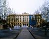Antibes: Place de Gaulle #2 (wanderingYew2 (thanks for 3M+ views!)) Tags: france 120 mamiya film fountain mediumformat antibes filmscan frenchriviera mamiya7ii placedegaulle