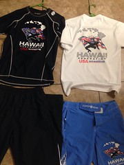 Team HA Gear: The shirts are GONE, for sale and discount in multiple purchases. (azwrestler10) Tags: shirt hawaii team pants gear shorts ha