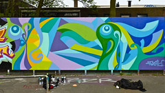 Den Haag Graffiti : PEACETU (Akbar Sim) Tags: holland netherlands graffiti nederland denhaag thehague akbarsimonse peacetu akbarsim hofmient