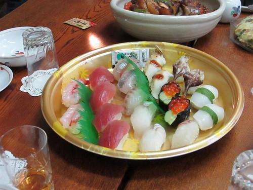 Sushis, vers Nagoya, Japon