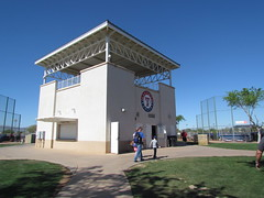 Scout Tower at Surprise Stadium -- Surprise, AZ, March 09, 2016 (baseballoogie) Tags: arizona canon baseball stadium az powershot surprise ballpark springtraining royals kansascityroyals cactusleague baseballpark surprisestadium 030916 sx30is canonpowershotssx30is baseball16