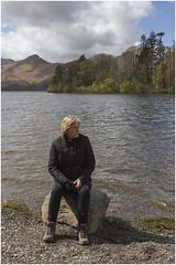 Susan at Derwent Water (Jistfoties) Tags: lakedistrict derwentwater keswick