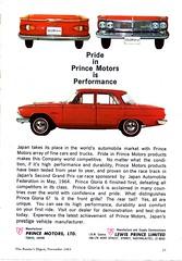 1965 Gloria 6 Prince Motors Aussie Original Magazine Advertisement (Darren Marlow) Tags: 1 5 6 9 19 65 1965 g gloria p prince m motors c car cool collectible collectors classic a automobile v vehicle j jap japan japanese asian asia 60s