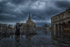 Souq Waqif - Rainy Day - HDR ( dp) Tags: rain rainyday souq hdr qatar hdrphotography souqwaqif qatarliving doha2016 qatar2016 dohasouq qatarrain doharain