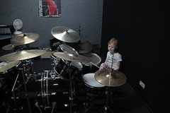 Abby-drumles-495 (leoval283) Tags: percussion abby nora lessons rockschool drummen fruitweg