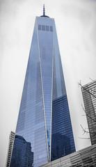Freedom Blue (A. Burrows Photography) Tags: newyorkcity newyork worldtradecenter lowermanhattan freedomtower