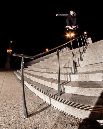 Woody Woelfel - Ollie Over Rail