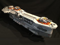 Hiigaran Destroyer (aaron.fiskum) Tags: lego space destroyer spaceship homeworld moc hiigaran