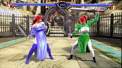 Battle_Alis G vs Nei A in Soulcalibur V (Cliffather) Tags: alis namco nei soulcalibur fightinggame virtualgirl ps3game