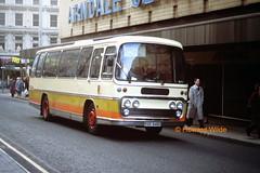 Timeline RSR 846H (originally ACH 142H) (SelmerOrSelnec) Tags: bus manchester coach trent leopard timeline highstreet leyland plaxton runrace ach142h rsr846h