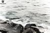 Moody Waves ! (Monia Allouche) Tags: longexposure sea beach landscape waves moody stones seascpae