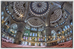 Blue Mosque, Istanbul (Sean X. Liu) Tags: bluemosque sultanahmedmosque mosque architecture istanbul turkey lowlight