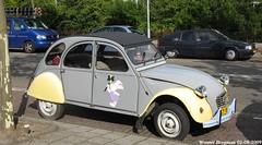Citron 2CV 1985 (XBXG) Tags: auto old france holland classic haarlem netherlands car vintage french automobile nederland citron voiture 2cv frankrijk 1985 paysbas eend geit ancienne 2pk 2cv6 citron2cv franaise deuche deudeuche ly80bp tj17vr