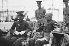 Generalissimo Chiang Kai-shek, right, Chairman of the National Military Council, Chairman of the Nationalist Government of China, and President of the Republic of China, with General Long Yun, left, Warlord and Governor of the province of Yunnan, Nanking, (Histolines) Tags: china history june 1936 long republic with general military president right retro governor national timeline council government yunnan nationalist chiang left chairman 27 yun province nanking warlord generalissimo kaishek vinatage historyporn histolines 1247x831 httpifttt1s2iwr2