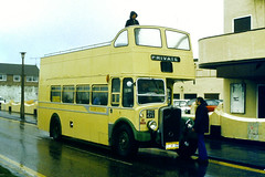 Slide 064-46 (Steve Guess) Tags: uk england bus museum island open top national topless gb eastern essex topper ksw canvey