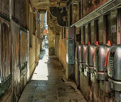 Payphone alley in Venice