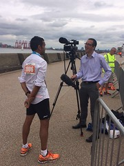 Tunnel 10k groom Abir Ali (Andy Bonner) Tags: liverpool wirral itv merseyside itvnews tunnel10k granadareports