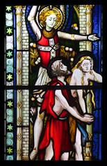 Adam and Eve cast out of Paradise (Hardman & Co, 1872) (Simon_K) Tags: cambridge church university churches colleges stmichael cambridgeshire eastanglia cambs michaelhouse churchess