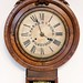 105. 19th Century T. Parker & Sons Wall Clock