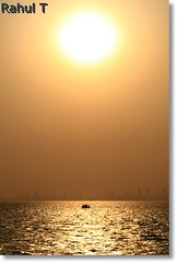 Sunset (Rahul Thakkar 123) Tags: sunset sun india color colour nature water beautiful landscape asia maharashtra mumbai