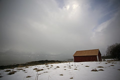 Snowing in the Lyngen Alps (dataichi) Tags: travel snow tourism nature norway montagne canon destination monte scandinavia montaa montanha montanhas montaas tromso troms norvge scandinavie