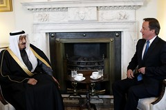 Prime Minister David Cameron with Prince Salman bin Abdul Aziz of Saudi Arabia (The Prime Minister's Office) Tags: london uklondon