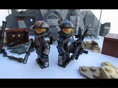 ODST Team ([Athanasios Lazarou]) Tags: soldier other lego painted halo sniper minifig custom minifigure odst
