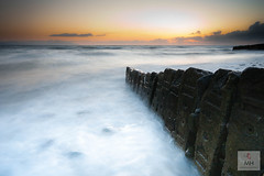 Dunany County Louth Ireland (Mick h 51) Tags: longexposure ireland sunset sea sunrise canon dawn coast rocks coastal louth dunany mhphotographyireland