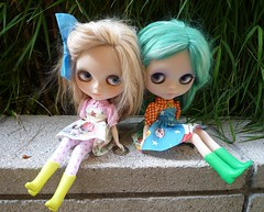 Angel-lily gals in Plastic Fashion